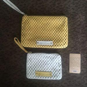 New- leather Linea Pelle - small wristlets